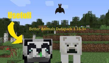 Better Animals Datapack Minecraft Data Pack