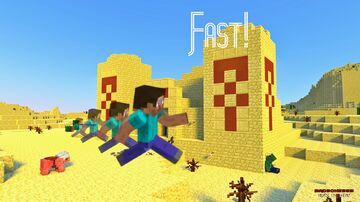 Minecraft, but you are FAST Minecraft Data Pack