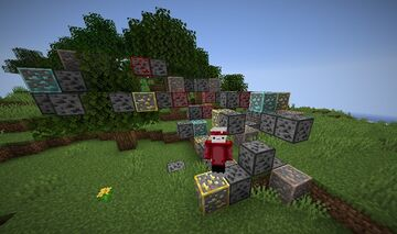 Minecraft but random ores spawn underneath you Minecraft Data Pack