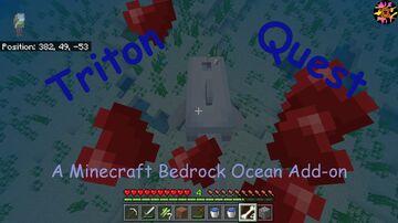 Triton Quest A Minecraft Bedrock Ocean Add-On Minecraft Data Pack