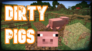 Pooping Pigs [Pig Upgrade] | True Survival Minecraft Data Pack