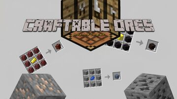 Craftable Ores! (1.16.2/3) Minecraft Data Pack