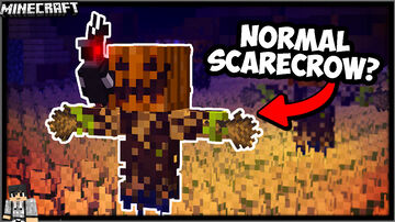 SCARECROWS  & CROWS DATAPACK - JohnPaulInso Minecraft Data Pack