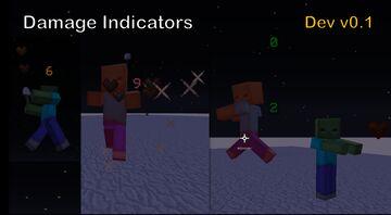 Damage Indicators - DEV Version v0.1 Minecraft Data Pack