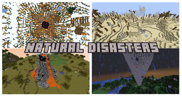 Natural Disasters Minecraft Data Pack