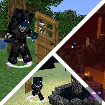 Doors Teleports You Minecraft Data Pack