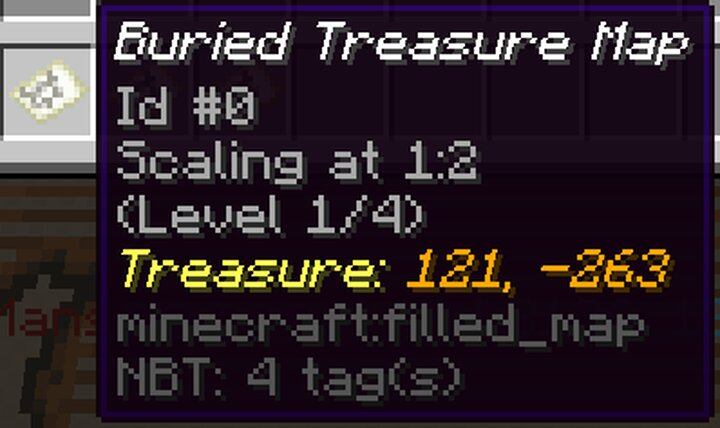 Map treasure lore