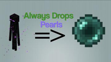 Endermen always drop pearls! Minecraft Data Pack