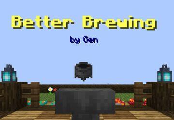 """Gen's """"Better Brewing"""" Minecraft Data Pack"""