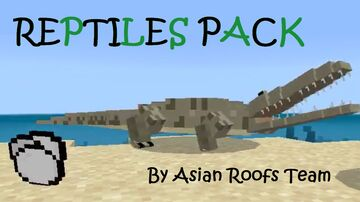 Reptiles Pack (for pocket edition) Minecraft Data Pack