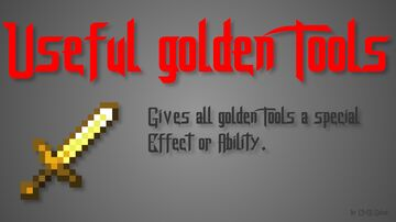 Useful Golden Tools Minecraft Data Pack