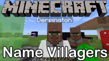 Villager-Name Minecraft Data Pack