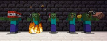 Tougher Zombies v0.1 Minecraft Data Pack
