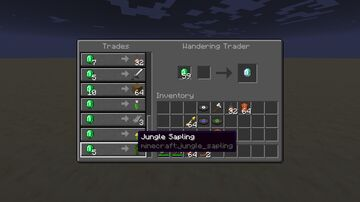 Wandering Tweaks Datapack by FireNH // Convert Wandering Trader to Normal Villager Minecraft Data Pack
