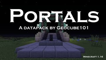 Portals Minecraft Data Pack