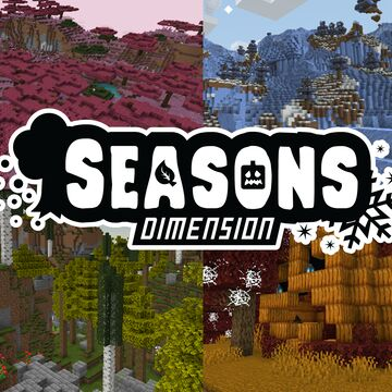 Seasons Dimension Datapack Minecraft Data Pack