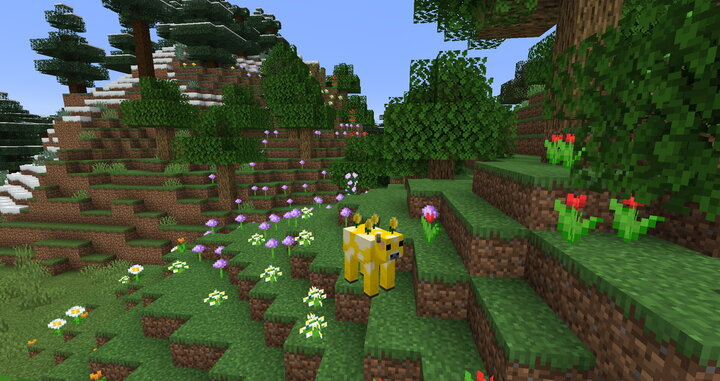 The Moobloom grazes peacefully in Flower Fields and Sunflower Plains.