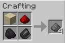 Survival recipes (gunpowder, leather, name tag, saddle) Minecraft Data Pack