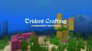 Trident Crafting Minecraft Data Pack