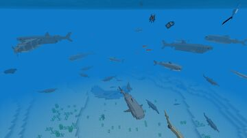Seas & Oceans TEST VERSION 1 (test world) Minecraft Data Pack