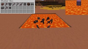 Netherite Items Come Out Of Burnt Shulker Boxes Minecraft Data Pack
