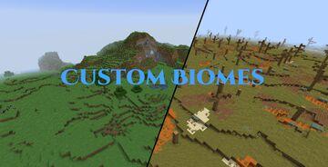 Custom Biome Datapack 20w28a + higher Minecraft Data Pack
