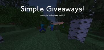 Simple Giveaways Minecraft Data Pack