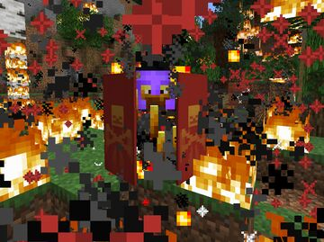 The Hovering Inferno ~ Blaze Boss Battle Minecraft Data Pack