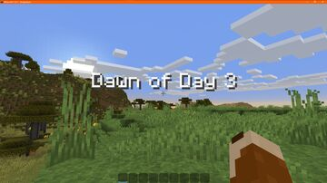 Dawn Day Counter Minecraft Data Pack