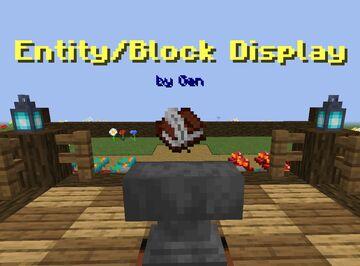 """Gen's """"Entity/Block Display"""" Minecraft Data Pack"""