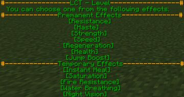 LCT - Levels Minecraft Data Pack