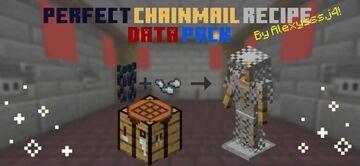 Pefect Chainmail Recipe Datapack Minecraft Data Pack