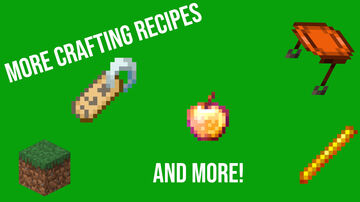 More Crafting Recipes (Lukey's Easy Crafting) Minecraft Data Pack