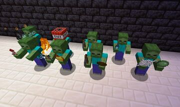 Tougher Zombies v0.2 Minecraft Data Pack