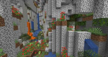 Cooler Caves Minecraft Data Pack