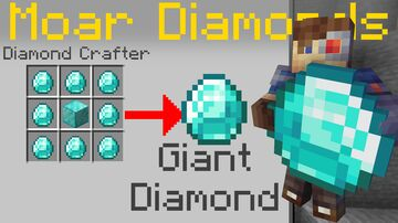 WASD Moar Diamonds [Datapack] Minecraft Data Pack