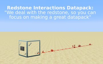 Redstone Interactions Minecraft Data Pack