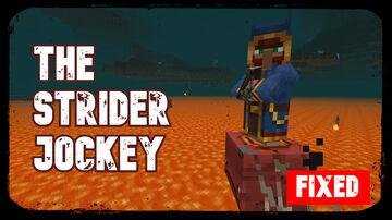 The Strider Jockey, Custom Wandering Trader | True Survival Datapack Minecraft Data Pack