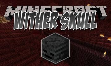 Wither Skeleton Skulls Drop High Chance (80% with Looting III) Minecraft Data Pack