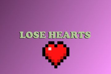 Lose Hearts! Minecraft Data Pack