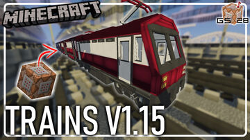 Trains - Metro/Subway - Trams/Streetcars Minecraft Data Pack