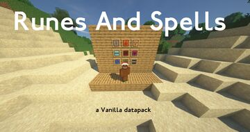 Runes And Spells Datapack Minecraft Data Pack