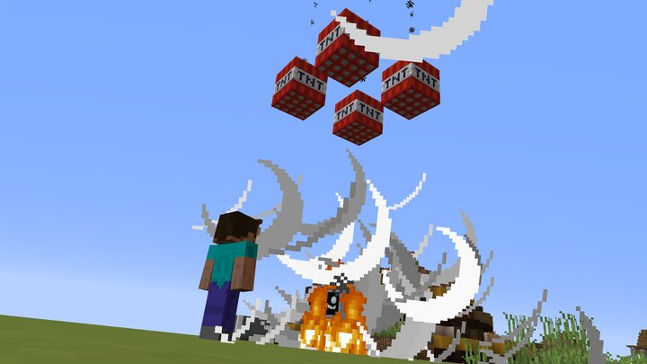 A diorite-disposal in action.