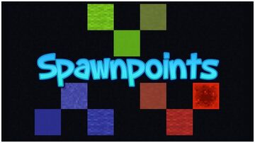 Easy Spawnpoints [Map Maker's Toolbox] Minecraft Data Pack