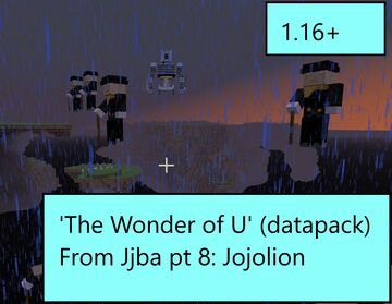 The Wonder of You (From JJBA Part 8: Jojolion) Minecraft Data Pack
