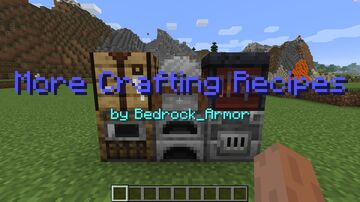 More Crafting Recipes Minecraft Data Pack