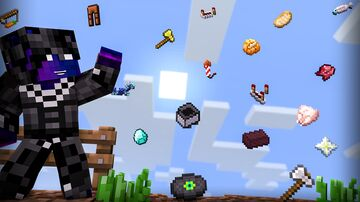 Random Items Rain Minecraft Data Pack