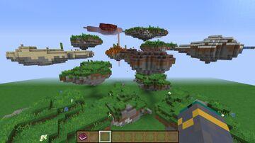 Random Floating Islands Minecraft Data Pack