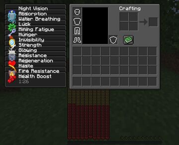 Minecraft But you have every potion effect Minecraft Data Pack