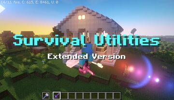 Survival Utilities (Ex. v.) v.2 Minecraft Data Pack